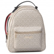 Rucsac TOMMY HILFIGER - Iconic Tommy Backpack Monogram AW0AW07926 BGE