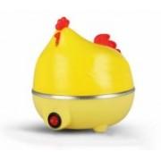Paybox hen Shaped 7 Eggs Boiler Steamer Poacher Microwave Egg Cooker 0547 Egg Cooker(Yellow, 7 Eggs)