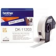 Brother DK-11203 (Noir/Blanc) - ORIGINALE