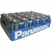 Pila PANASONIC Carbón Zinc Azul D Charola Con 24 1.5v UM-1UHS