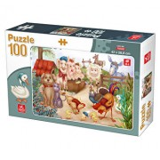 Puzzle Animale Domestice, 100 piese