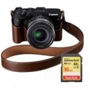 Canon EOS M3 Kit EF-M 18-55 premium KIT