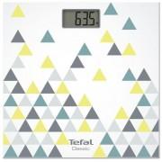 Cantar de baie Tefal Decor PP1145V0, 160 kg, Afisaj LCD, 30 x 30 cm (Multicolor)