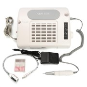 35000RPM Nail Drill Equipped Suction Dust Collector Machine Desk Lamp 3 in 1 Salon Nail Art Tool