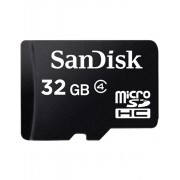 Card memorie SanDisk Micro SDHC 32GB Class 4 + Adaptor SD