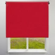 Victoria-M Roleta materiałowa, Czerwona, 130 x 175 cm, Wolnowisząca, Zaciemniająca