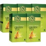 LaPlant Honey Lemon Green Tea - 125 Tea Bags (Pack of 5)