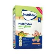 Multifrutas papa para bebé sem gluten 300g - Nutriben