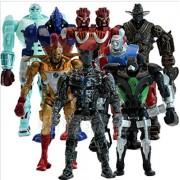 sunya shop 8Pcs/Set Real Steel Pvc Action Figures Collectible Model Dolls Toys Kids Gifts Kt477