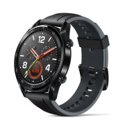 "Reloj Smartwatch Huawei GT Classic negro, pantalla AMOLED 1.39"" / acelerómetro / GPS / resistente al agua / IOS / Android"