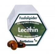 Berthelsen Lecitin 520 mg 90 kapslar Vitaminpiller