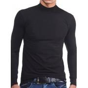 Doreanse Мужская черная футболка с длинными рукавами и воротником стойкой Doreanse Long Sleeve 2930c01