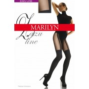 Marilyn - Trendy stockings pattern tights Zazu Line 60 DEN