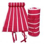 Texty strandmatrac, rószaszínű