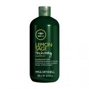 Paul Mitchell Șampon energizant pentru păr fin și slab Tea Tree (Lemon Sage Thickening Shampoo) 75 ml