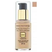 MAX FACTOR MAQUILLAJE FACE FINITY 3 IN 1 FDN 55 BEIGE SPF 20 30 ML