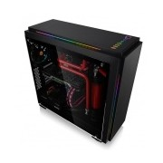 Gabinete Thermaltake Versa C23 con Ventana, Midi-Tower, ATX/Micro-ATX/Mini-ITX, USB 2.0/3.0, sin Fuente, Negro
