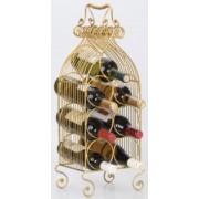 Stojan na 4 vína kovový