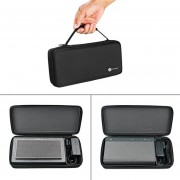 EY Compact Size Portable Protective Case Box Travel Carrying Speaker Protective Box Pouch Bag Suitable For Bowers & Wilkins T7-black