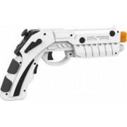Pistol AR Shooting Gun joystick IPEGA PG-9082 bluetooth pentru smartphone android - PC Alb