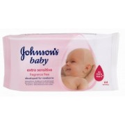 Servetele Umede Johnson's Baby Extra Sensitive 64buc