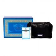 Versace Man Eau Fraiche confezione regalo eau de toilette 100 ml + eau de toilette 10 ml + trousse uomo