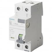 FID zaštitni prekidač 2-polni 63 A 0.03 A 230 V Siemens 5SV3316-6KK01