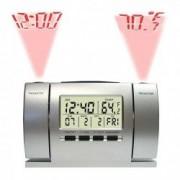 Ceas cu proiectie ora si temperatura alarma MAN 119