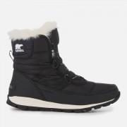 Sorel Women's Whitney Short Lace Boots - Black - UK 5 - Black
