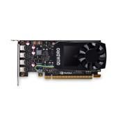 VGA PNY Quadro P1000 DVI, nVidia Quadro P1000, 4GB 128-bit GDDR5, mDP 4x + adapter to DVI, 12mj (VCQP1000DVI-PB)