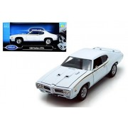 Welly 1969 Pontiac Gto Hardtop Diecast Car