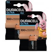 Duracell Ultra Power 9V 2 Pack Batteri (BUN0025A)