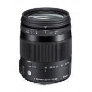 Pachet Sigma 18-200mm F3.5-6.3 DC Macro OS HSM C Canon + Manfrotto filtru UV slim