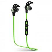 SQ-U6 Auriculares estereo Bluetooth para auriculares - Negro + Verde
