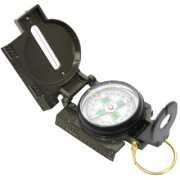 3 in 1 Military Hiking Camping Lens Lensatic Magnetic Compass - 13