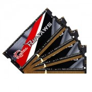 Memorie G.Skill Ripjaws DDR3L SO-DIMM 32GB (4x8GB) 1600MHz 1.35V CL9 Dual Channel Quad Kit, F3-1600C9Q-32GRSL