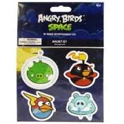 Angry Birds Space - Magnet Set - PIG FIREBOMB LIGHTNING & FROZEN GRANDPA PIG