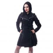 kabát dámský CHEMICAL BLACK - DARK SILENCE - BLACK - POI750