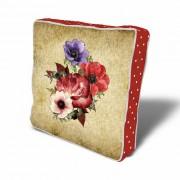 Perna decorativa Sitter, Dimensiune: 43 x 43 cm, Material exterior: 50% bumbac / 50% poliester 763STT0174