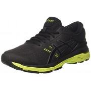 ASICS Men's Gel-Kayano 24 Black/Green Gecko/Phantom Running Shoes - 8 UK/India (42.5 EU)(9 US)