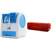 MMM_1395M_Air conditioner Mini cooler and H 13 bluetooth speaker compatible for LG OPTIMUS L5( Air conditioner Mini cooler|| Mini cooler|| Mini Air conditioner || Mini AC || Portable Fan|| bluetooth Speaker)