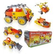 48 Pieces DIY Flexible Junior Builder Build Play Block Construction Set Toy For Kids