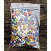 Seedbeads - Opak Mix 4mm , 50 gram