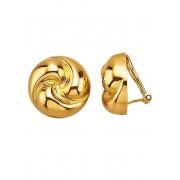 Golden Style Oorclips verguld Golden Style Geelgoudkleur