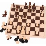 Jucarie educativa Big Jigs Chess and Checkers