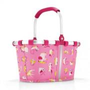 reisenthel Einkaufskorb carrybag XS ABC friends pink