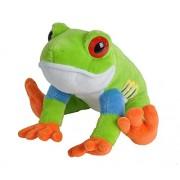 """Wild Republic 12"""" Cuddlekins Red Eyed Tree Frog"""