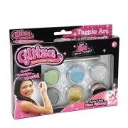 Knorrtoys Knorr Toys Knorrgl7508 Glitza 6 Canned Refill Blister Set with 80 Tattoos (Large)