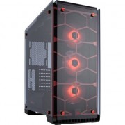 Corsair carcasa pc crystal series 570x rgb atx mid-tower, rosie