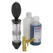 Tester detectare scurgeri garnitura chiulasa detectare CO2